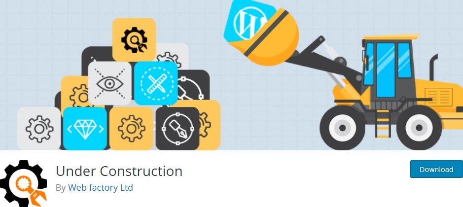 Плагин Under Construction