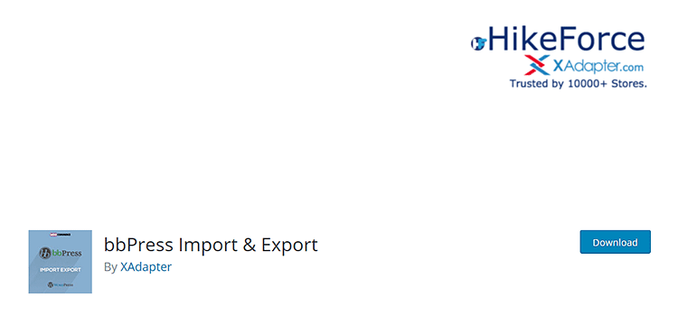 плагин Вордпресс bbPress Import & Export