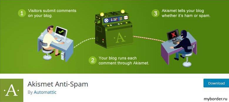 Плагин комментирования Akismet Anti-Spam